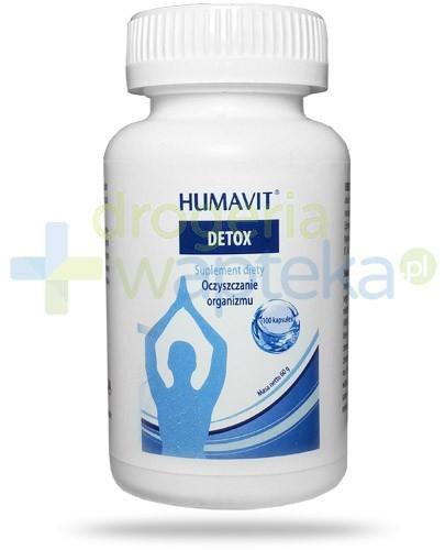 Humavit Detox oczyszczanie organizmu 100 tabletek