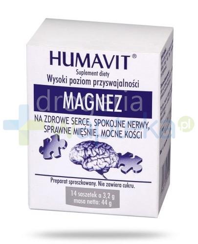 Humavit Magnez 14 saszetek
