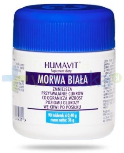 Humavit Morwa Biała 90 tabletek