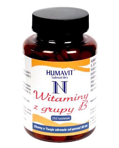 Humavit N Witaminy z grupy B 250 tabletek