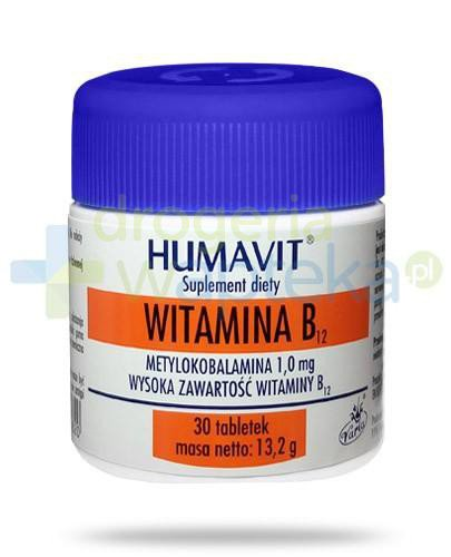 Humavit witamina B12 30 tabletek