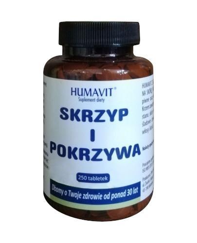 Humavit Z drożdże piwne ze skrzypem i pokrzywą 250 tabletek