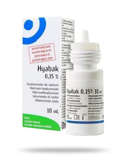 Hyabak krople do oczu 10 ml