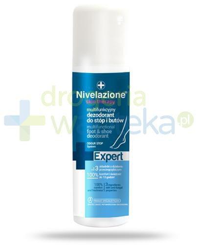 Ideepharm Nivelazione Skin Therapy Expert multifunkcyjny dezodorant do stóp i butów 150 ...