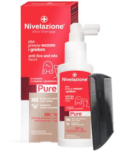 Ideepharm Nivelazione Skin Therapy PURE płyn przeciw wszom i gnidom 100 ml