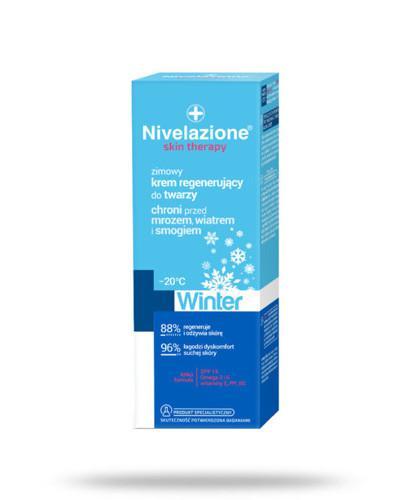 Ideepharm Nivelazione Skin Therapy Winter zimowy krem regenerujący do twarzy 50 ml