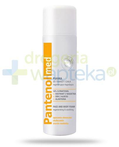 Ideepharm Pantenol Med pianka regenerująco-łagodząca do twarzy i ciała 150 ml