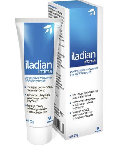 Iladian Intima żel na podrażnienia intymne 30 g