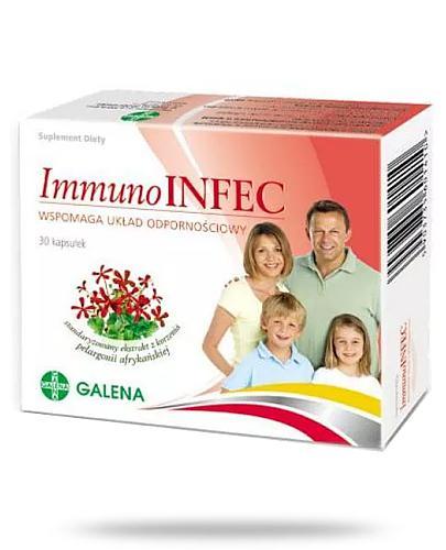 ImmunoINFEK 25mg 30 kapsułek
