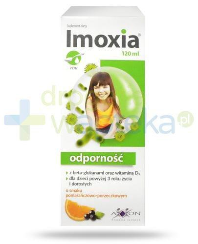 Imoxia Odporność płyn dla dzieci 3+ 120 ml  whited-out