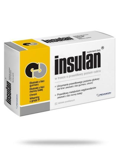 Insulan 60 tabletek powlekanych