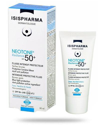 Isis Neotone Radiance SPF50+ serum na dzień likwidujący przebarwienia skóry 30 ml