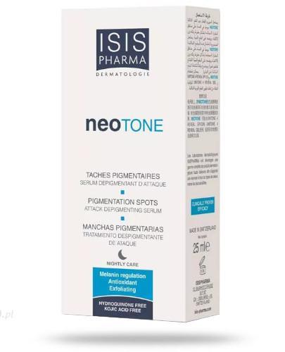 ISIS Neotone Serum na noc likwidujące przebarwienia skóry 25 ml  whited-out