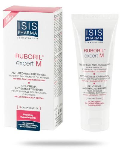 Isis Ruboril Expert M krem do skóry naczynkowej ze skłonnością do rumienia cera miesza...