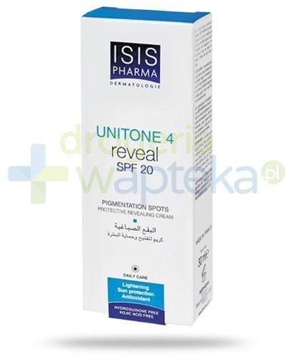 Isis Unitone 4 Reveal SPF20 krem rozjaśniający przebarwienia skóry z Alfa Arbutyną 30 ml