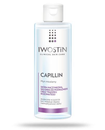 Iwostin Capillin płyn micelarny wzmacniający naczynka 215 ml
