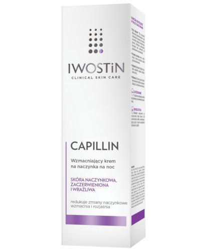 Iwostin Capillin wzmacniający krem na naczynka na noc 40 ml