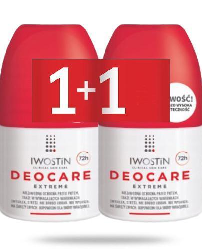 Iwostin Deocare Extreme antyperspirant 2x 50 ml [DWUPAK]