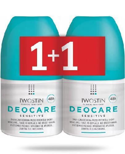 Iwostin Deocare Sensitive antyperspirant 2x 50 ml [DWUPAK]