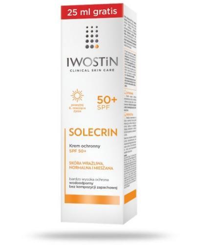 Iwostin Solecrin SPF50+ krem ochronny 75 ml