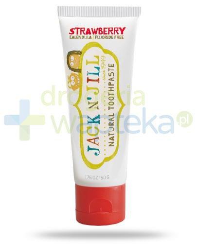 Jack & Jill naturalna pasta do zębów smak truskawkowy 50 g