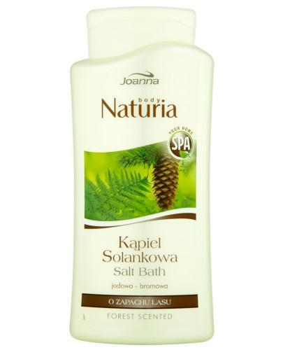 Joanna Naturia Body kąpiel solankowa jodowo-bromowa o zapachu lasu 500 ml