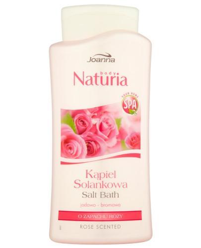 Joanna Naturia Body kąpiel solankowa jodowo-bromowa o zapachu róży 500 ml