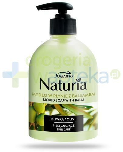 Joanna Naturia mydło w płynie z balsamem z oliwkami 500 ml