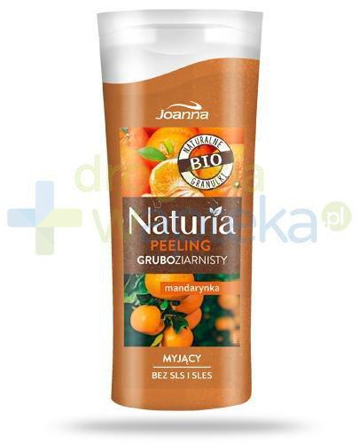 Joanna Naturia peeling gruboziarnisty z mandarynką 100 g