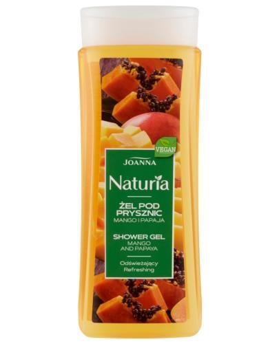 Joanna Naturia żel pod prysznic mango i papaja 300 ml