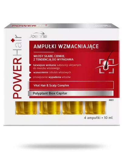 Joanna Power Hair ampułki wzmacniające 4x 10 ml