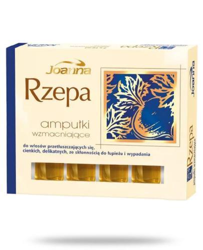 Joanna Rzepa ampułki wzmacniające do włosów przetłuszczających się 4x 10 ml