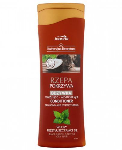 Joanna Tradycyjna Receptura Rzepa pokrzywa odżywka tonizująco-wzmacniająca do włosów ...