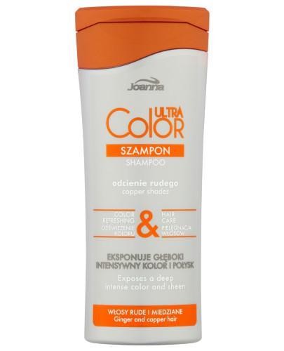 Joanna Ultra Color odcienie rudego szampon do włosów 200 ml