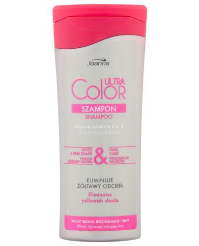 Joanna Ultra Color różowe odcienie blond szampon do włosów 200 ml