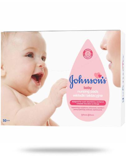 Johnsons Baby wkładki laktacyjne 50 sztuk