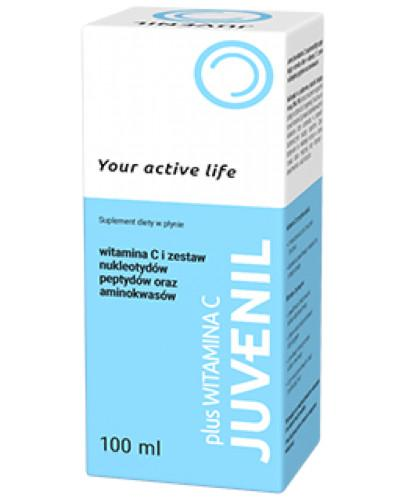 Juvenil plus witamina C płyn 100 ml