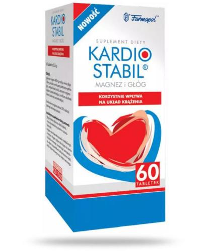 Kardiostabil 60 tabletek  whited-out