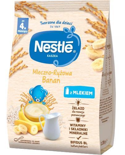 Kaszka mleczno-ryżowa Nestlé banan po 4 miesiącu 230 g