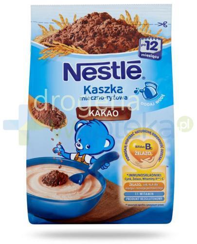 Kaszka mleczno-ryżowa Nestlé kakao po 12 miesiącu 230 g