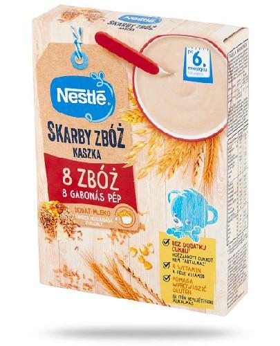 Kaszka Nestlé Radosny Brzuszek 8 zbóż po 6 miesiącu 250 g