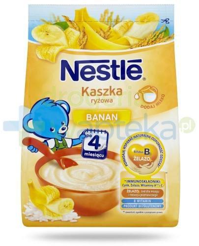 Kaszka ryżowa Nestlé banan po 4 miesiącu 180 g
