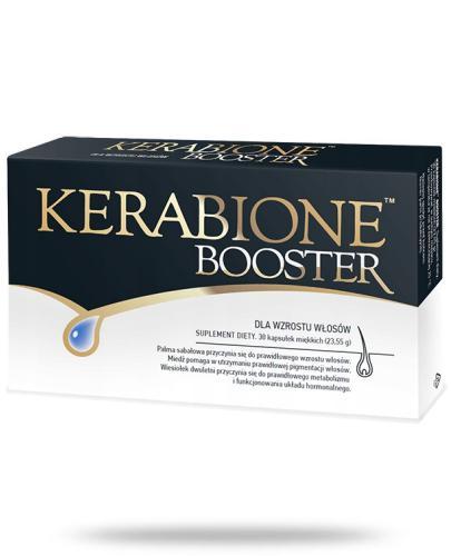 Kerabione Booster dla wzrostu włosów 30 kapsułek