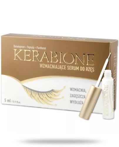 Kerabione serum wzmacniające do rzęs 5 ml