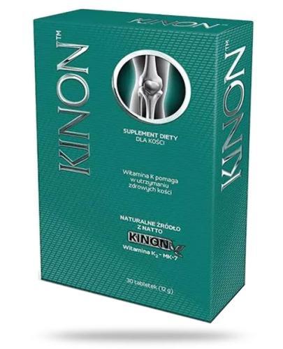 Kinon witamina K2 pozyskiwana z natto 30 tabletek
