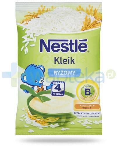 Kleik ryżowy Nestlé po 4 miesiącu 160 g  whited-out