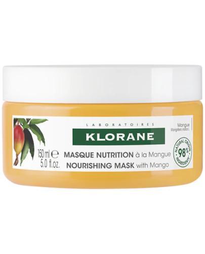 Klorane maska na bazie masła mangowego 150 ml