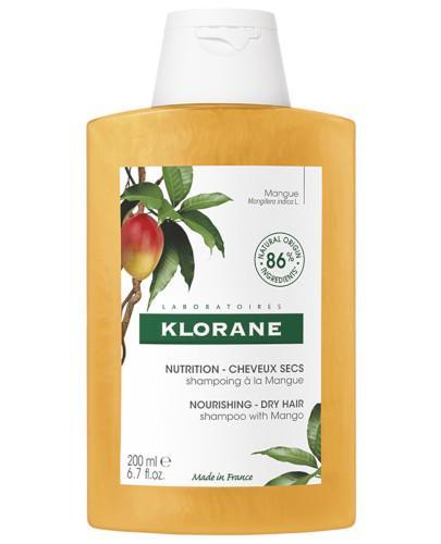 Klorane Odżywienie szampon z mango do włosów suchych 200 ml
