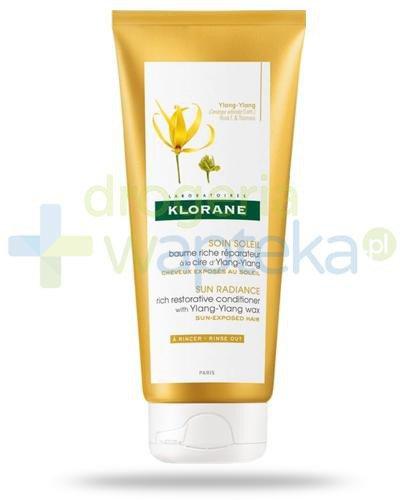 Klorane Pielęgnacja słoneczna regenerujący balsam na bazie wosku Ylang-Ylang 200 ml