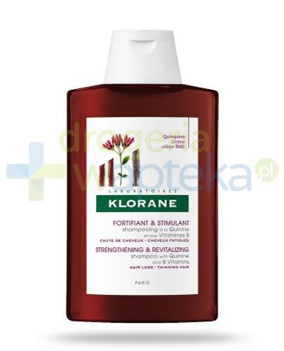 Klorane szampon na bazie chininy i witaminy B5 200 ml